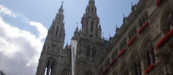 Erster Rundgang in Wien