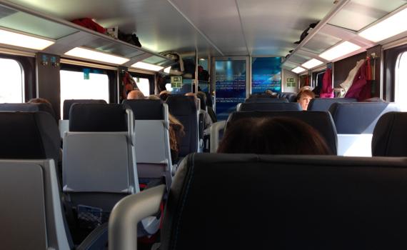 Westbahn Fahrt